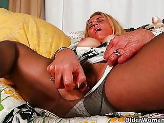 Mature Milfs Lexxi And Cristine Cant Control Their Sex Urge