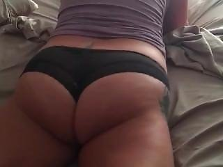 Wife Humping Bed Orgasm