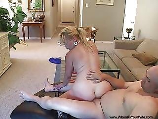 Big Tit Anal Blonde Milf Gets Butt Fucked