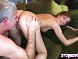 Petite Mistress Shaking Bareback Orgasm