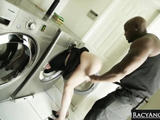 Laundry Lady Masturbating In Need Of Big Black Cock Whitney Wright And Nat Turnher