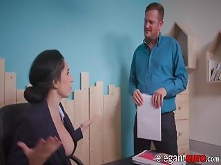 anal, bonasse, sperme, sperme dans la bouche, office