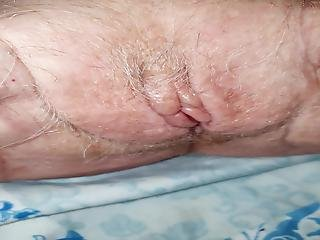 Very Old Granny Pussy Close Up