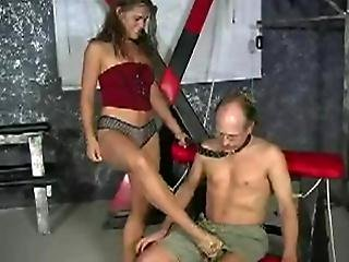 Busted Bitch Willingly Fucked By Old Dude