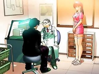 Hentai Teen Sucks And Tit Fucks Big Penis