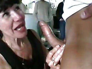 French Mature Gangbanged