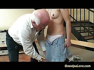 Amateur, Grandpa, Pigtail, Reality, Teen, Young