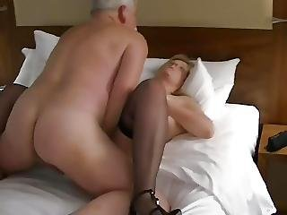 Husband Films Mature Man With His Wife