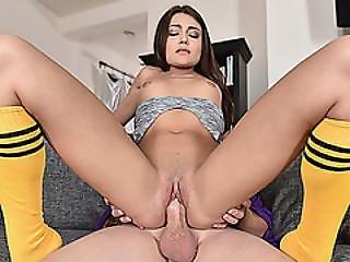 Horny Hot Babe Adria Rae Having A Meaty Dick