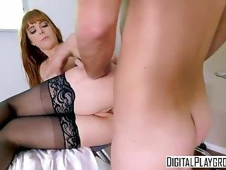 The X Files A Xxx Parody-sexy Ginger Penny Pax Gets Fucked In The Hospital