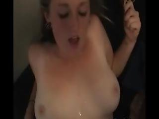 Horny Couple Doing Sex Tape