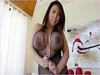 Bangbros - Tigerr Benson Is A Sexy Asian With Huge Tits And A Fat Ass