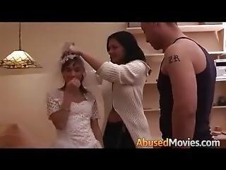 Anální sex nevěsty
