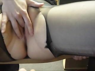 Amateur Milf Masturbation And Footjob