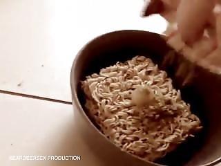 Perverted Noodle Making