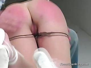 Aleida Gets Spanked Long And Hard