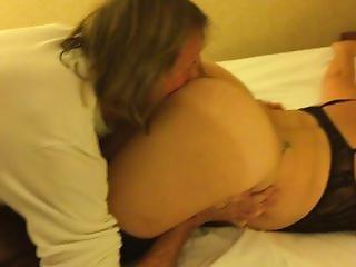 Amateur, Anaal, Geblinddoekt, Hotel, Vrouw