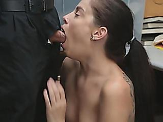 Young Brunette Bobbi Dylan Sucks Dick Before Getting Pussy Sexy