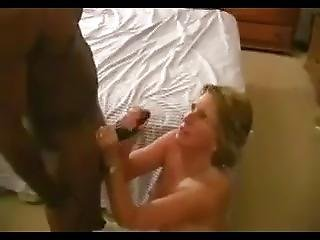 Grandmother Of 6 Gets Huge Load Of Cum On Face While Husband Watches
