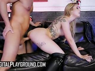 Digital Playground - Smoking Badgirl ,kali Roses, Needs To Be Punished