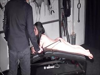 Amateur Spanking Of Faye Corbin In Blowjob Whipping And Red Bottom Punishment Of Private Slavegirl In Kinky Bdsm And Domination By Strict Master