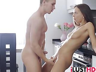 Brunette Teen Carre Likes To Fuck