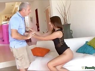 Teen Whore Fucking Older Man To Escape Punishment