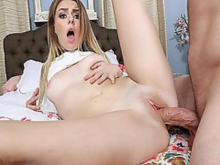 Alex Blakes Shaved Pussy Railed So Fucking Hard