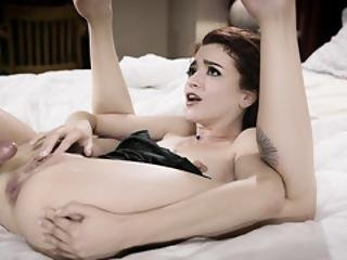 Tiny Babe Lola Fae Gaping Session With Sugar Daddy