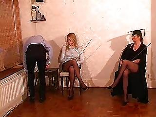 British, Caning, Femdom, Mistress, Punish, Spanking, Teacher