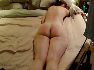 Milf Painfully Spanked