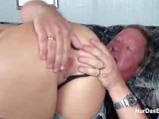 Fat Dad Caught His Step Daughter And Fuck Her Pussy