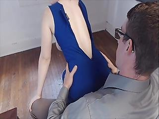 Lena Paul Gives Her Husband A Titjob Before Riding Him