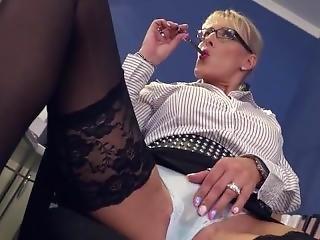 Lana Vegas German Office Slut