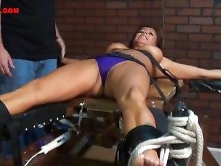 Milf Lady From Chile Sexy Tickled