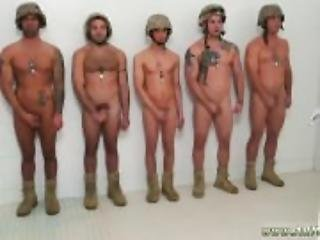 Military naked men gay hot crazy troops!