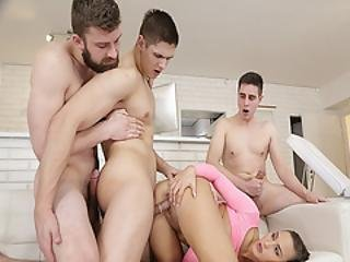 Naomis Pussy Gets Railed From Behind By Tomas Fuck