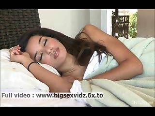 Brunette Girl Filmed Wile Sleeping