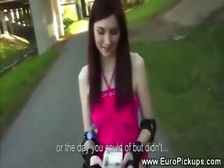 amatör, brud, europé, tjejen dörren bredvid, gammal, pov, offentligt, verklighet, sex, Tonåring
