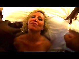 Hot Wife Cassandra Deep Dped And Swallows Cum