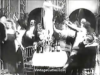 Lady Gets Drunk At Her Birthday S Party 1910s Vintage