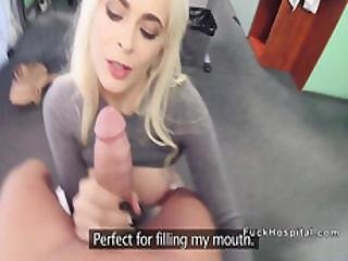 Doctor Bangs Italian Huge Tits Blonde