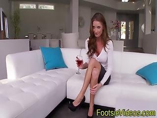 luder, vollbusig, cream, sperma, füsse, fuss, harter porno, Oralverkehr, zehen