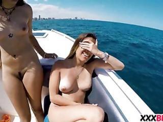 amatör, båt, gruppsex, hårdporr, lebb, nätt, pov, fitta, sexig, sex, Tonåring
