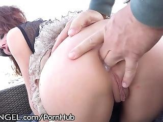 Evilangel Rough Facefuck In Public Elevator And Anal Punishment