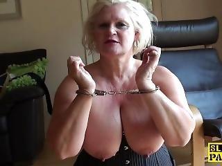 Arsch, Fetter Arsch, Gross Titte, Blondine, Britisch, Mollig, Harter Porno, Reife, Ruppig, Sex