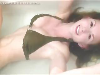 Girl Underwater Bathtub