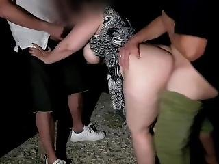 Strangers Fuck My Wife.  Version Without Music In Premium.