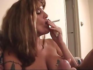 Smoking Dirty Milf Blowjob