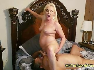 Ms Paris Rose In Pee Play Foreplay With Oral Satisfaction